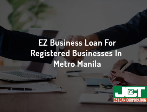 EZ Business Loan For Registered Businesses In Metro Manila