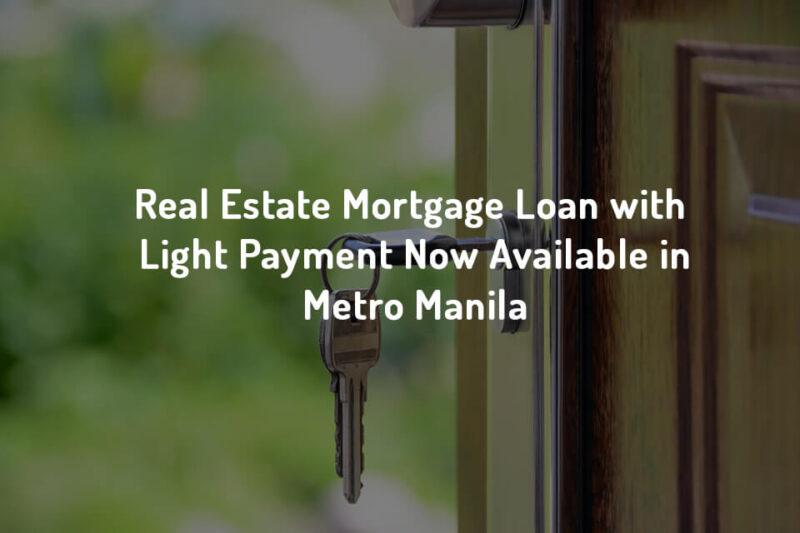 Real Estate Loan Metro Manila