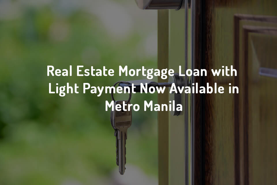 Real Estate Loan Metro Manila